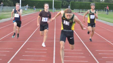 Morgan Webster is up to sixth in the all-time list at Huntingdonshire Athletics Club for the 100m.