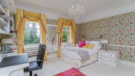 One of the property's six double bedrooms. Picture: Whittaker & Co