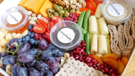 Deanne Sandiford and Emma Grant have launched Grazingly, a box of delicious snacks delivered to your