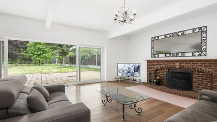 Looking good: Damien Ellison enhanced this high-end property in St Albans when it was left vacant an