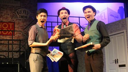 An ADC production of Guys and Dolls. Picture: Lucia Revel-Chion