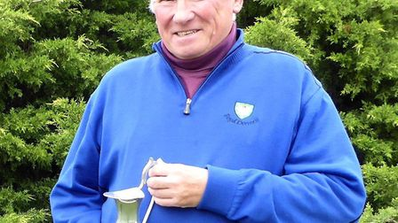 Malcolm Knobel-Forbes was the winner of the Lucy Godfrey Memorial Trophy at Heydon Grange Golf Club.