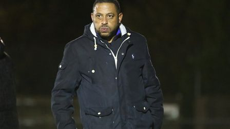 Ken Charlery insists London Colney will just crack on after latest upheavel. Picture: DANNY LOO