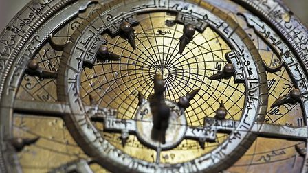 Astrolabe in the Whipple Museum. Picture: Sir Cam /University of Cambridge