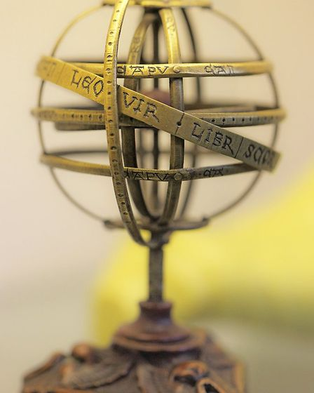 Ptolemaic armillary sphere in Whipple Museum. Picture: Sir Cam / University of Cambridge