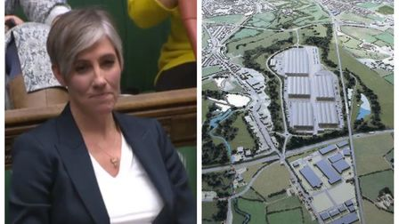 St Albans MP Daisy Cooper secured a debate in the Commons on the Radlett rail freight plans. Picture