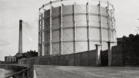 Cambridge gas works. Picture: Cambridge Museum of Technology
