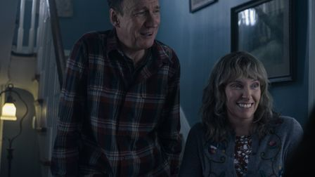 David Thewlis as Father and Toni Collette as Mother in I'm Thinking Of Ending Things. Picture: Mary