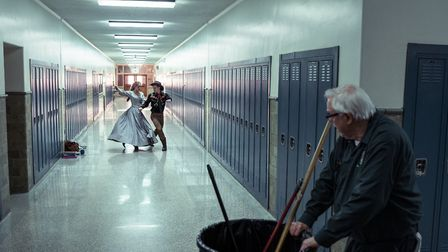 Guy Boyd as Janitor in I'm Thinking of Ending Things. Picture: Mary Cybulski/NETFLIX 2020