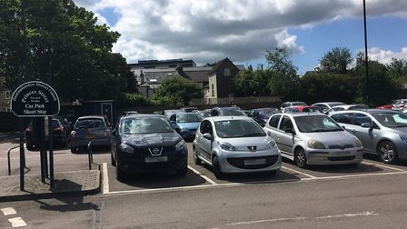 Car parking charges to return to all district council run car parks in Huntingdonshire. Pictured is