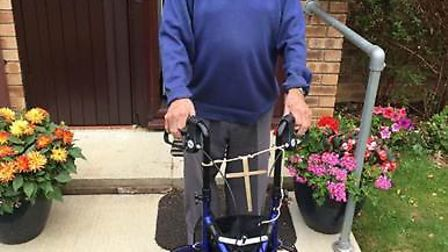 Jersey Farm resident Ken Salmon will be making 93 laps of his care home in aid of Project 50.