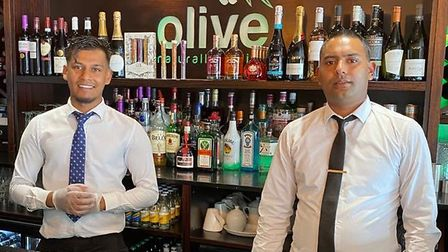Olive Indian restaurant in St Neots PICTURE: