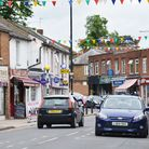 Abbots Langley's busy high street. Picture: Kevin Lines