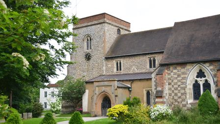 St Lawrence the Martyr church, Abbots Langley. Picture: Kevin Lines