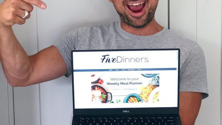 Theo Michaels has launched Five Dinners, a new weekly meal planning business. Picture: Supplied