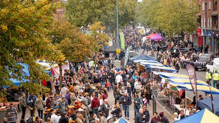 A previous St Albans Food and Drink Festival.