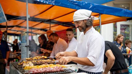 A previous St Albans Food and Drink Festival. Picture: St Albans District Council