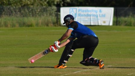 Nick Kumpukkal in action for St Ives & Warboys.