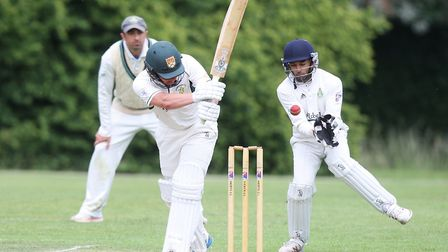 Will Hales scored an unbeaten 77 as Redbourn reached the final of the National Village Cup. Picture: