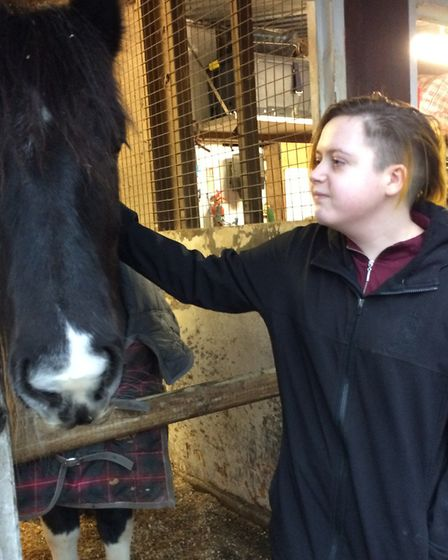 Cerys Hennighan from Bassingbourn has been attending Penniwells RDA centre since 2012. Picture: Trac