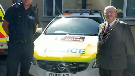 Police Sergeant Jon Vine is returning to Royston with ideas on how to reduce crime in the area. Pict