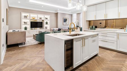 The apartments all have individually designed kitchens with integrated appliances. Picture: Griggs