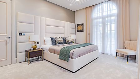 There are bespoke fitted wardrobes to all bedrooms. Picture: Griggs