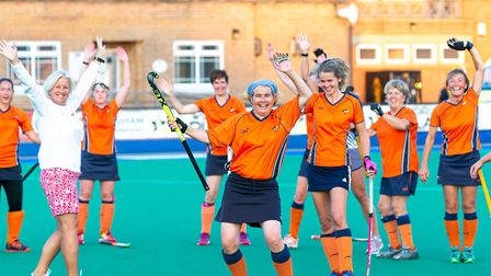 St Albans Hockey Club over 45 women won the national masters title with victory over Redlands. Pictu