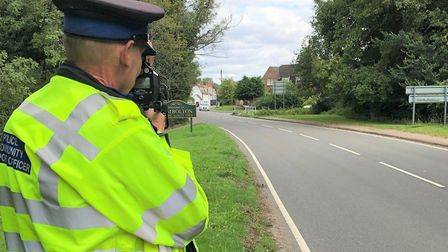 Speeding drivers in Cambridgeshire warned after lockdown. Picture: CAMBS POLICE