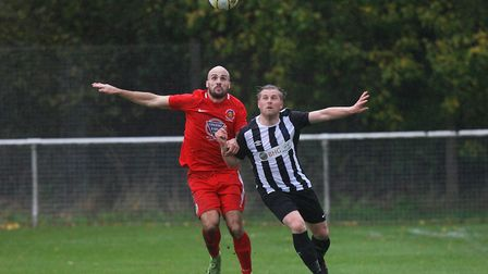 Danny Fitzgeralds late goal gave Colney Heath a 3-2 win at Arlesey Town. Picture: KARYN HADDON
