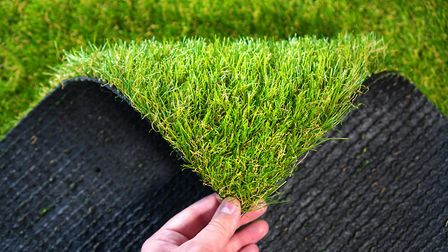 Critics say that that plastic lawns are not environmentally friendly and can end up in landfill afte