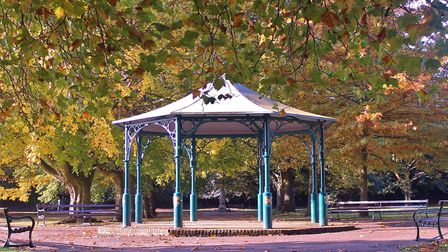 Grove House photography competition. The bandstand at Clarence Park by Graham Lines