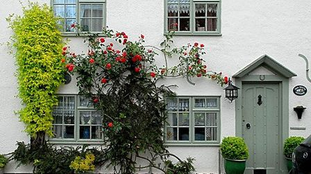 Grove House photography competition. The White Cottage at Redbourn by Helen Cullens