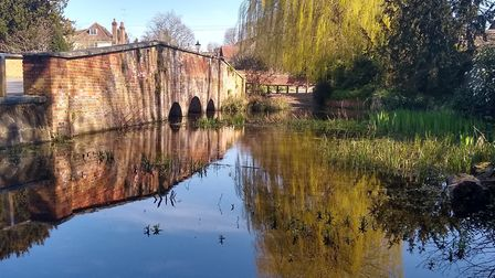 Grove House photography competition.The bridge over the River Ver at St Michael's by Steve Simpson
