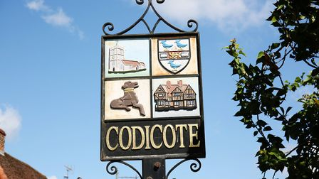Welcome to Codicote. Picture: DANNY LOO