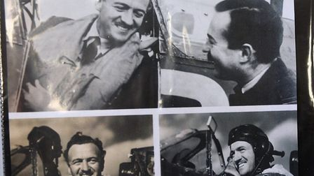 St Neots man Victor Ekins served as a pilot in World War Two.