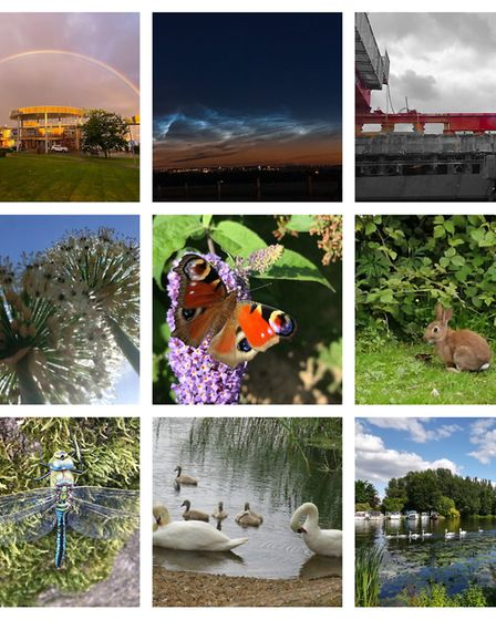 There were some beautiful images from across Huntingdonshire.