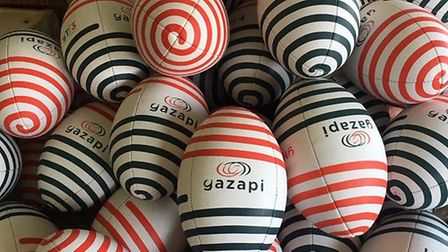 The training aids developed by David Robinson of Gazapi Sport.