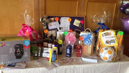 Royston Golf Club raised £1,540 with a charity golf day and raffle. Picture: Papworth Trust