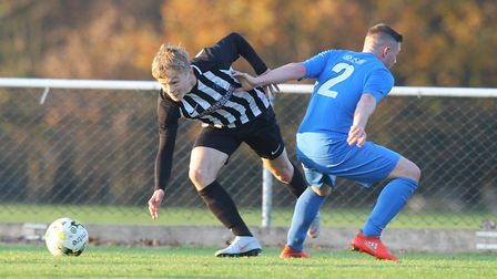 Former Colney Heath junior Joe Newton is now playing for Coventry City. Picture: KARYN HADDON