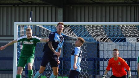 Manager Barry Corr played himself for the first time as St Neots Town drew 1-1 with Bedworth United.