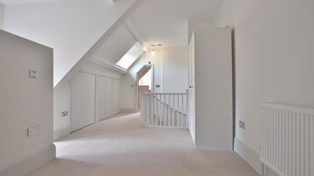 One of the property's three double bedrooms. Picture: Belvoir