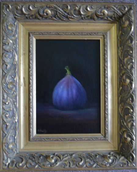Sheila Reddy's painting 'Fig' for the Royston Arts Society's autumn exhibition. Picture: Sheila Redd