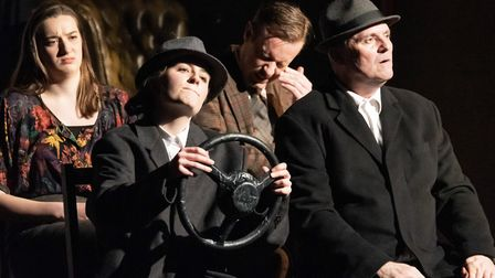 The Maltings Theatre presents The 39 Steps to open its autumn season in St Albans. Picture: Pavel Go