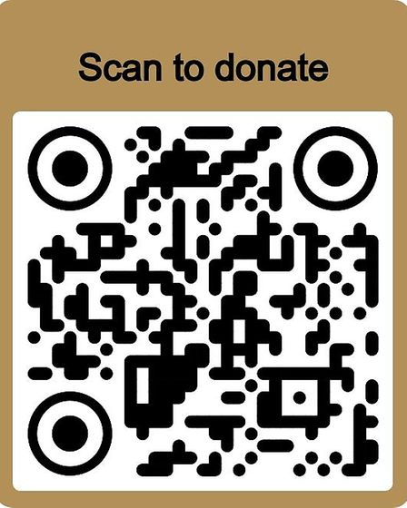 Donate to the St Albans event by using this code. Picture: Supplied