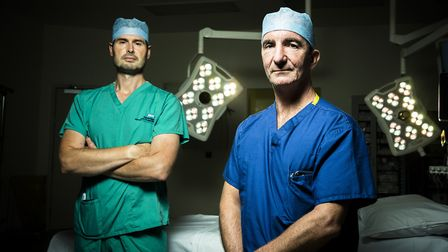 Surgeons Andrew Carrothers and David Jenkins will appear in the ITV documentary.
