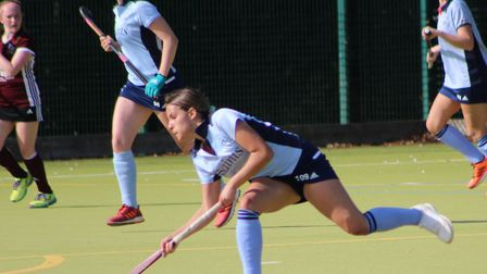 Summer Payne in action for St Neots against Bedford. Picture: CHRISTOPHER FAULKNER