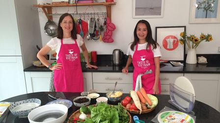 A cooking lesson with Taste of Vietnam.