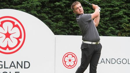Harpenden Golf Club's Jack Bigham has retained his place in the England Golf boys' squad. Picture: L