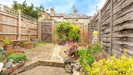 There is a courtyard garden to the rear of the property. Picture: Collinson Hall